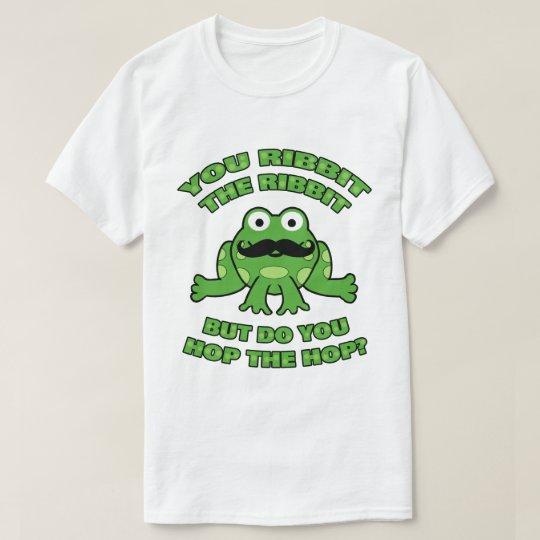 Moustache Frog Hop the Hop T-Shirt