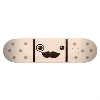Moustache Gentleman Adhesive Bandage Custom Skate Board