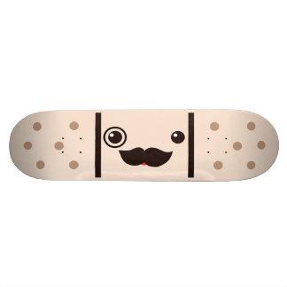Moustache Gentleman Adhesive Bandage Skateboard Decks