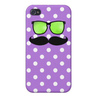Moustache iPhone 4 Cover