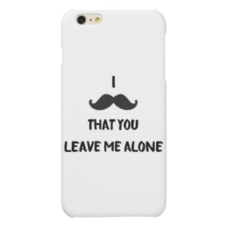 Moustache - iPhone 6/6s Plus Case iPhone 6 Plus Case