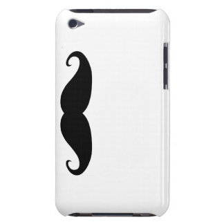 Moustache ITouch case! Case-Mate iPod Touch Case