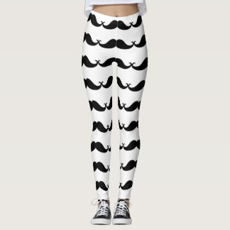Moustache Leggings