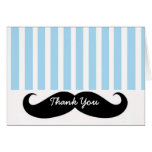 Moustache LIl Man Thank You Card Note Card