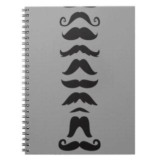 Moustache Line Up Notebooks