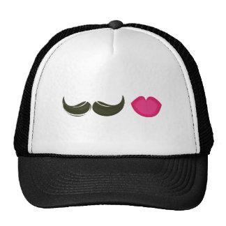 Moustache & Lips Cap