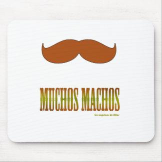 moustache.macho. mouse pad