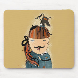 Moustache MousePad by Krize