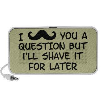 Moustache Music Portable Speaker