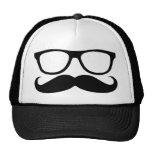 Moustache Nerd Hats