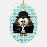 moustache owl
