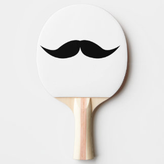 moustache ping pong paddle