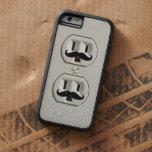 Moustache power outlet tough xtreme iPhone 6 case