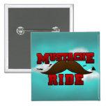 Moustache Ride Badge