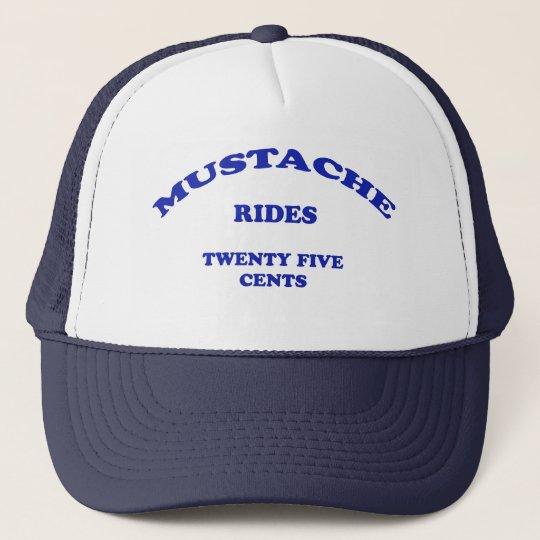 Moustache Rides Twenty Five Cents Trucker Hat
