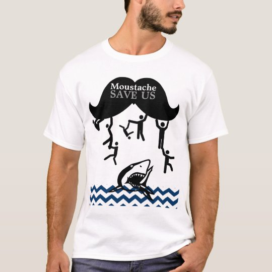 Moustache Save Us T-Shirt