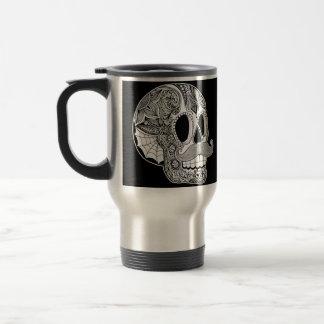 Moustache Skull Mug