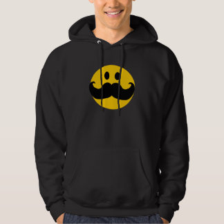 Moustache Smiley Hoodie