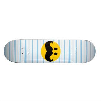 Moustache Smiley Skateboard Deck