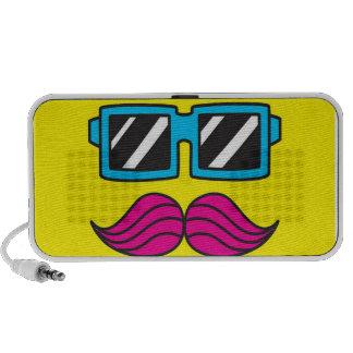 Moustache Speaker