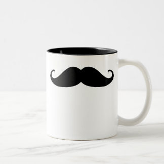 Moustache! Two-Tone Coffee Mug