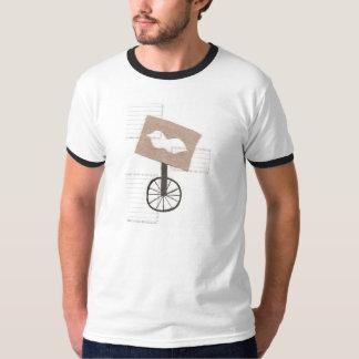 Moustache Unicycle Men's T-shirt