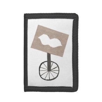 Moustache Unicycle Wallet