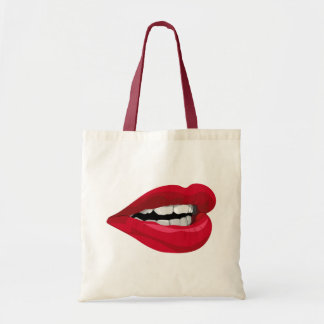 Mouth lips mouth lips tote bag