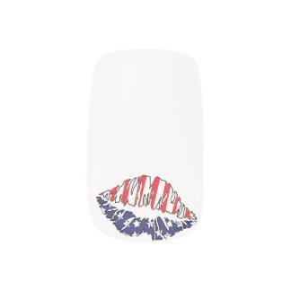 MOUTH USA Minx Nail Art Decals