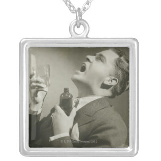 Mouthcare Silver Plated Necklace