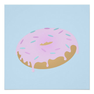 Mouthwatering Doughnut Poster