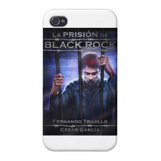 Movable housing 'the prison of Black Rock' Covers For iPhone 4