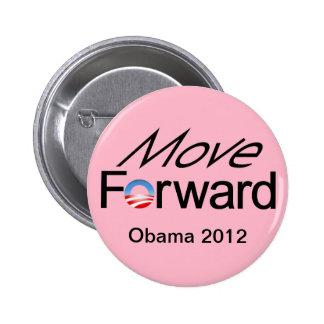 Move FORWARD - Obama 2012 Pinback Button