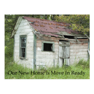 Move In Ready - Funny Change of Address Postcards
