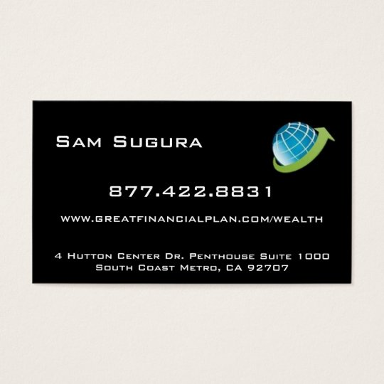 Move My Net Worth Business Card