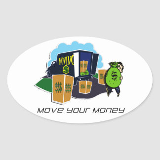 Move Your Money Campaign Stickers