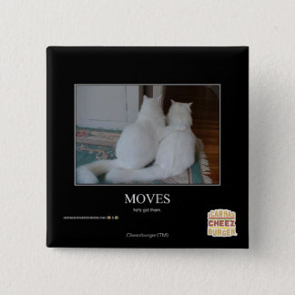 Moves 15 Cm Square Badge