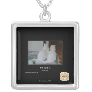 Moves Silver Plated Necklace