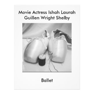 Movie Actress Laura Guillen aka Ishah Ballet 21.5 Cm X 28 Cm Flyer