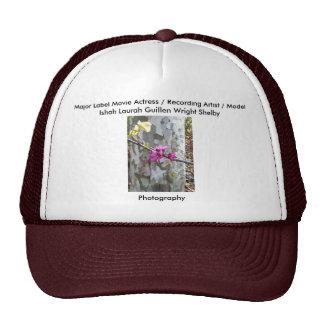 Movie Actress Laura Guillen aka Ishah Photography Hat