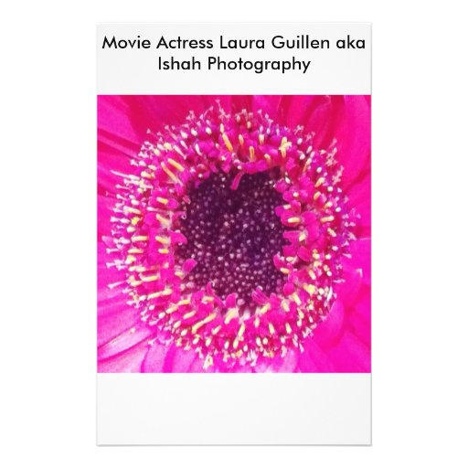 Movie Actress Laura Guillen aka Ishah Photography Personalized Flyer