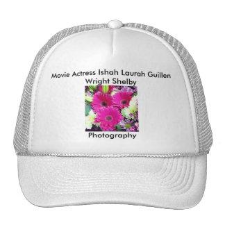 Movie Actress Laura Guillen aka Ishah Photography Mesh Hat