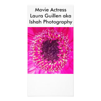 Movie Actress Laura Guillen aka Ishah Photography Photo Card