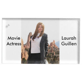Movie Actress Laura Guillen aka Ishah Table Card Holder