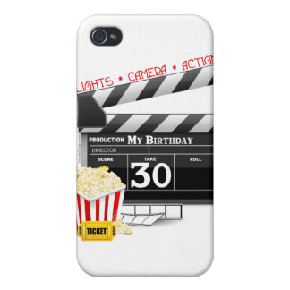 Movie Birthday Party 30th Birthday iPhone 4/4S Cases