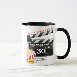 Movie Birthday Party 30th Birthday Mug