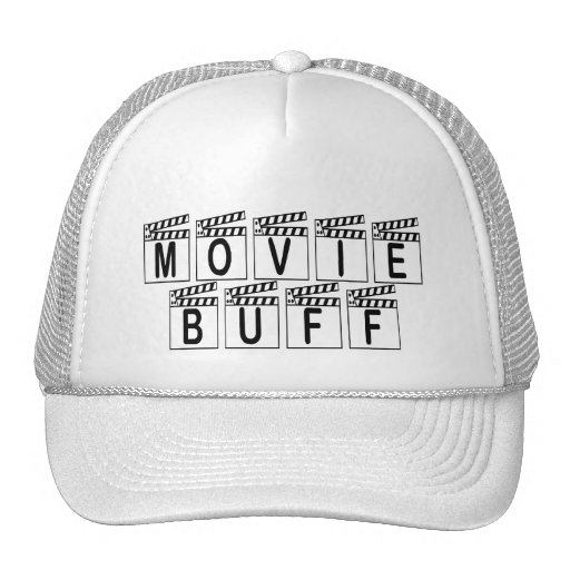 Movie Buff T-shirts and Gifts. Trucker Hats
