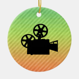 Movie Camera Christmas Ornament