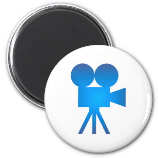 Movie camera movie camera magnet