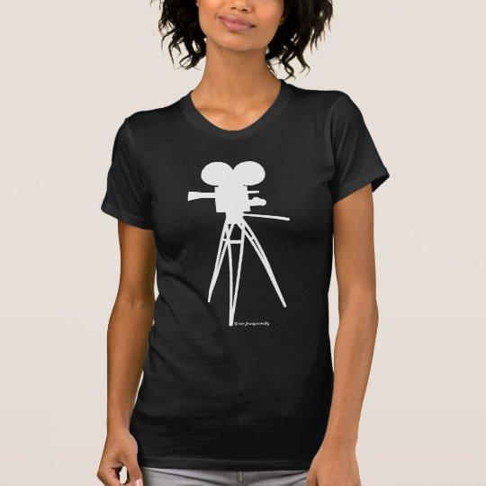 Movie Camera Silhouette Shirt
